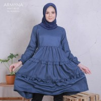 Tunik Armyna / Atasan / Baju Menyusui / Nursing Dress / Nursing Wear