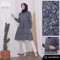 Tunik Dalia / Baju Menyusui Dalia / Nursing Wear / Nursing Dress