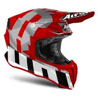 Helm Airoh Twist 2.0 FRAME Red Matt Motorcross Motocross MX
