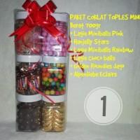 Paket Choco Toples Mini Jajan Cemilan Parcel Lebaran