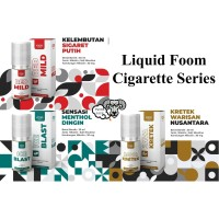 Liquid Foom Cigarette Series | Foom Red Mild | Ice Blast | Java Kretek
