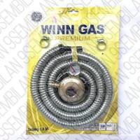 Paket Regulator dan Selang Winn Gas W199