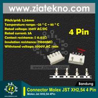 [ZIATEKNO] Header Molex JST XH2.54 Connector Molex - 4 Pin