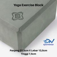 Balok yoga | yoga block | yoga Birck perlengkapan olahraga yoga - Dark grey