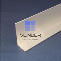 Siku Aluminium 50 mm x 25 mm, t. 2.0 mm