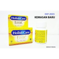 Ester c 30 tablet Holisticare READY STOK Exp 2023 (Kemasan Baru)