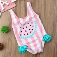 baju renang bayi 6bln-4thn lucu semangka