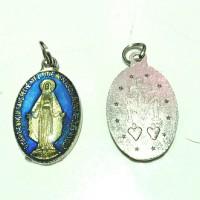medali wasiat rosario blue 2.2