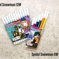 spidol set 6 warna Snowman