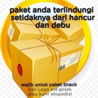 wajib packing tambahan dus untuk paket Snack dan lego