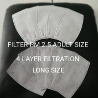 Filter Masker PM 2.5 KF94 (4 Lapisan) Adult Long Size - Pak Isi 2 Pcs