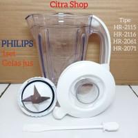 gelas blender philips 1set mika untuk HR2115 HR2116 HR2061 HR2071