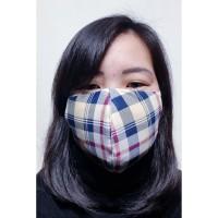 Masker 2 ply dengan slot filter (tidak bisa pilih motif )