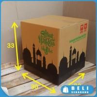 HOT SALE BOX BINGKISAN KARDUS PARCEL LEBARAN 30x30x33cm -