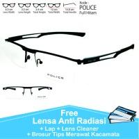 jual berbagai model frame dan lensa Frame Kacamata Pria Wanita Half