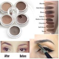 Eyeshadow Anti Air Warna Coklat Tua Natural