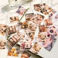 Stickers Japanese Stationary Diary Mini Small Travel Flake Cute