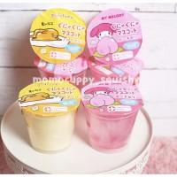 ORIGINAL) Squishy licensed gudetama & melody squeeze toy by sanrio (