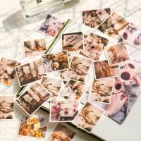 Cute Stickers Japanese Stationary Diary Mini Small Travel Flake
