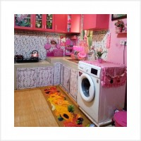 Produk Terlaris Karpet atau keset Dapur 3D uk 50 x 120 cm