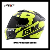 Helm GM RACE PRO Z650 MOTIF SE Helem FullFace GM accessories