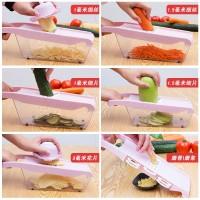 pemotong sayur multifungsi, bawang putih, rumah tangga, bawang