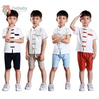 IU Baby Boys Tops + Short Pants Kids Chinese Style Sets