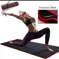 Matras anti slip tikar spon Yoga olahraga gym traveling