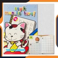 Buku Tulis/Buku Anak/Asyik Belajar Menulis Huruf-Kata-Angkao