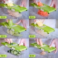 Multifungsi sayur rumah tangga pemotongan artefak dapur tangan