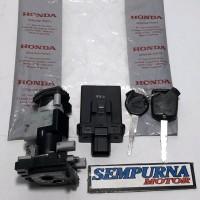 Kunci Kontak Set Assy Komplit Key Set Assy Vario 150 LED Original