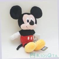 Boneka Lucu mickey mouse sitting small original disney new Lembut