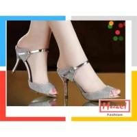 Sepatu High Heels 5cm Premium Gliter Luxury Edition   Hazel SPW-DJ058