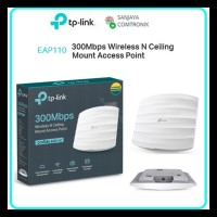 TP-LINK EAP 110 300Mbps Wireless N Ceiling Mount Access Poin TL-EAP110