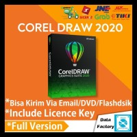 Corel Draw Graphic Suite 2020 32+64bit Full License Key DVD Software