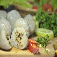 Bakso Isi Jamur White Jade Pearls Vegan Vegetarian Enak Sehat