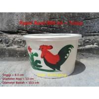 Paper Bowl / Mangkuk Kertas 800ml Ayam Jago Isi 50pcs + TUTUP