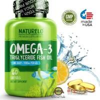 hoot sale NATURELO - Premium Omega-3 Fish Oil - 1100 mg Triglyceride