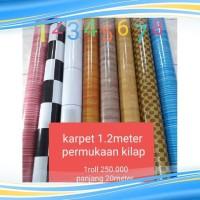 Bestymall Thu890 250.000 Vinyl Roll Per 120Cm Lantai Karpet 1 Harga
