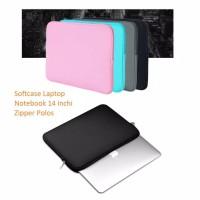 Laptop Soft Case Import 14 Inch Pouch Tempat Macbook ipad