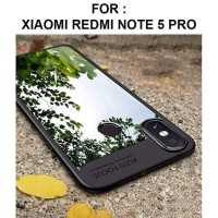 CASING REDMI NOTE 5PRO/ REDMI 5 PLUS CLEAR AUTO FOCUS TRANSPARAN CASE