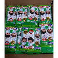 Masker Sensi Earloop 1 pack isi 6pcs