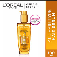 Loreal paris extraordinary oil gold hair serum vit rambut rusak 100ml