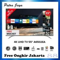 Hisense LED TV 55 Inch 4K UHD Digital - 55A6502EA