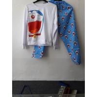 Baju Tidur Piyama Baby Doll Wanita Doraemon Size M