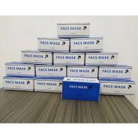 Masker 3 ply 1 Box isi 50 pcs Masker 3 lapis Masker Surgical Earloop