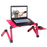 Meja Laptop table portable aluminium - meja Lipat kerja