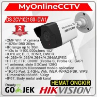 DS-2CV1021G0-IDW1 Hikvision IP Camera CCTV Outdoor 2MP Wireless MMC