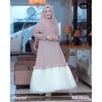Diskon Baju Muslim Gamis Wanita Fashion Lebaran Hijab Modern Model