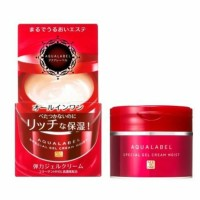 Shiseido Aqualabel Special Gel Cream MOIST All in One 90g RED Dry skin